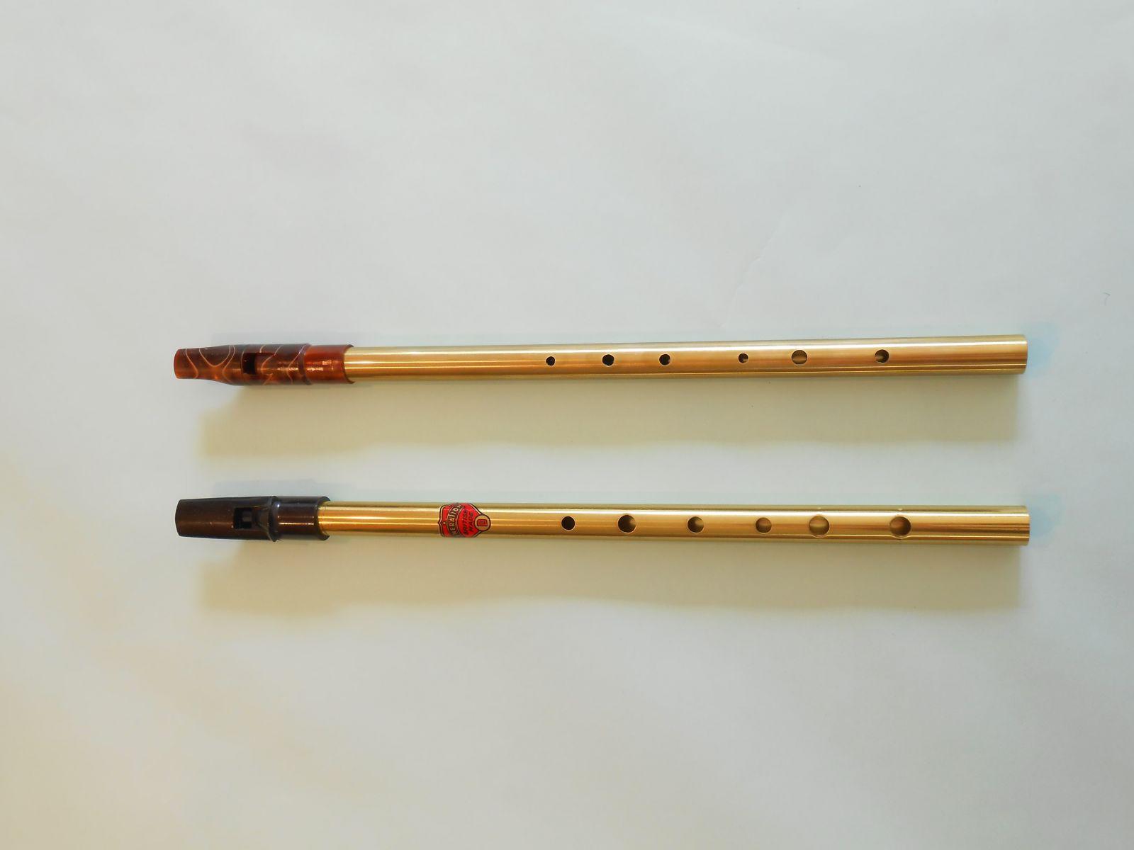 ティンホイッスルのHead交換: JKOBO 静かな音色の笛づくり